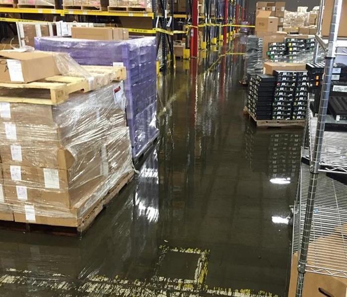 Storm Damage When Storms or Floods hit Grove City, SERVPRO is ready!